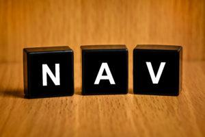 Klosser med bokstavene NAV.